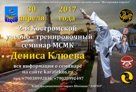 Семинар Дениса Клюева в Костроме